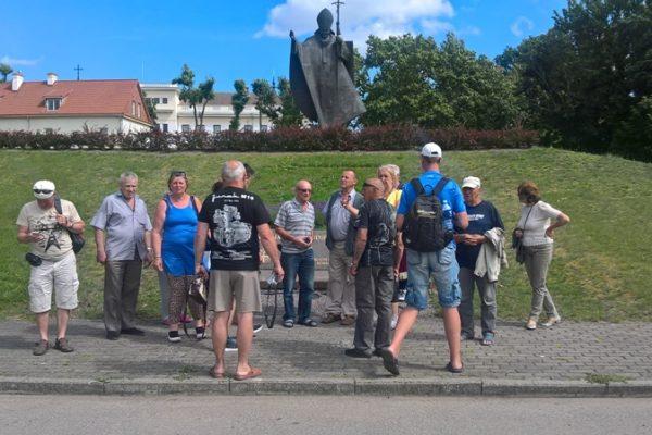 In Kaunas Old town