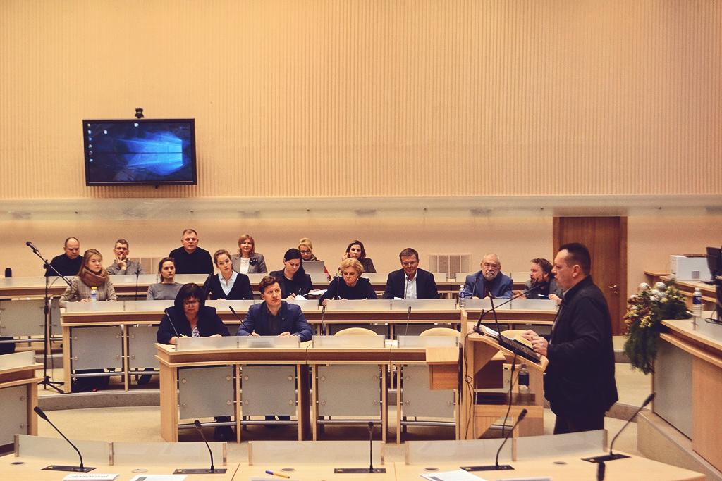 Konferencija vyko Kauno savivaldybės didžiojoje salėje
