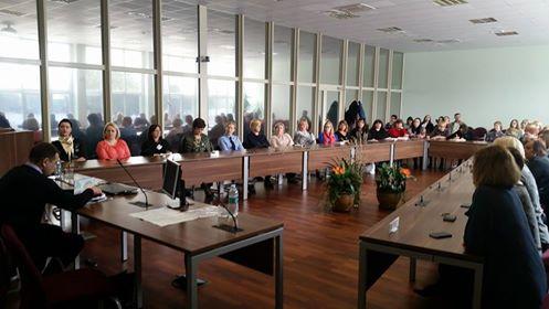 Elektrėnų savivaldybėje PLSA vedė seminarą soc. darbuotojams, susidurianties su priklausomybių problema