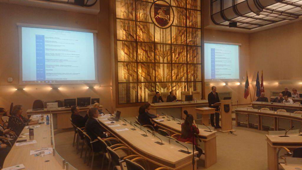 Konferencija tradiciškai vyko Kauno savivaldybės didžiojoje salėje