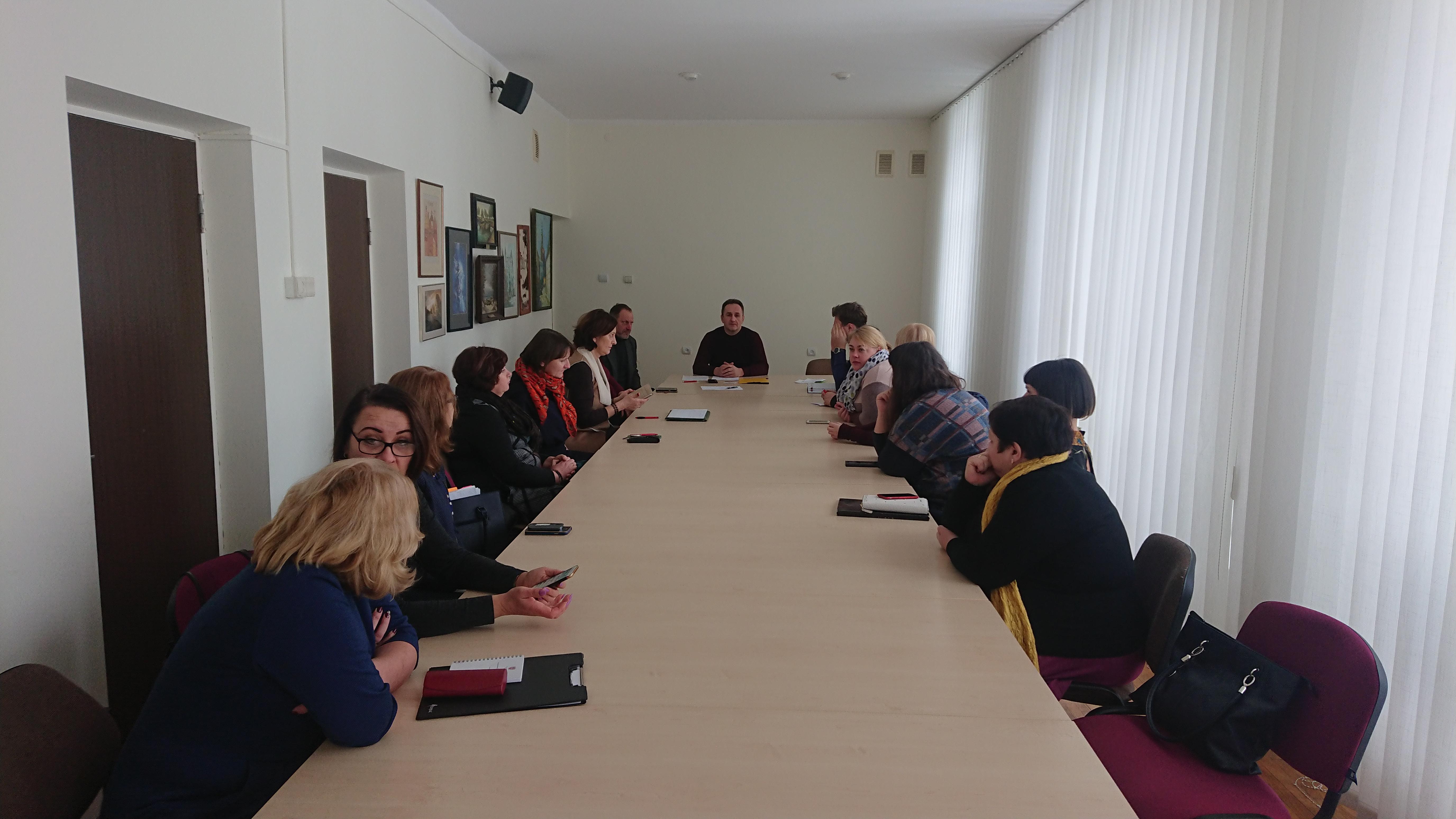 Priklausomybių kabineto pristatymas Švenčionių savivaldybėje